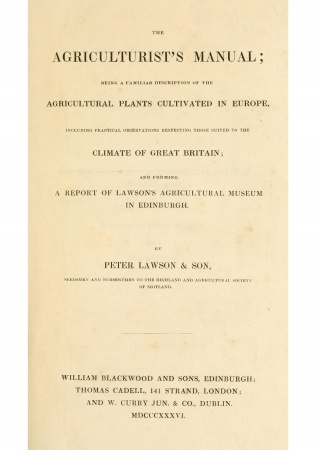 The agriculturist's manual