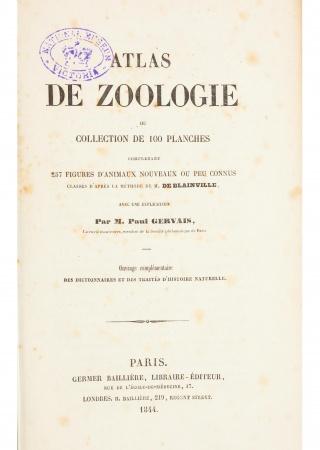 Atlas de zoologie