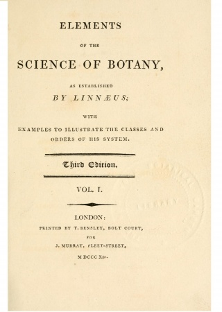 Elements of the science of botany