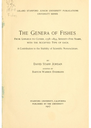 The genera of fishes