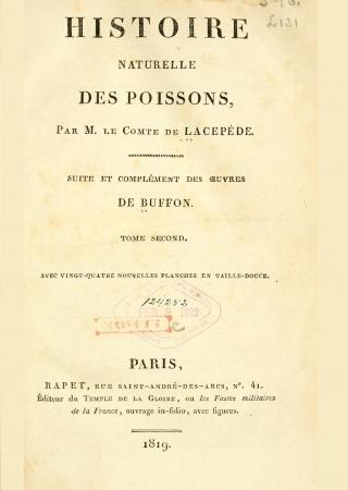 Histoire naturelle des quadrupèdes-ovipares