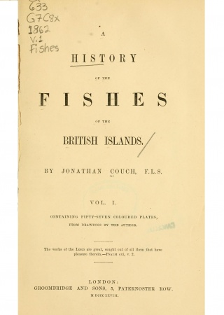 A history of the fishes of the British Islands