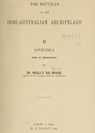 The reptiles of the Indo-Australian archipelago