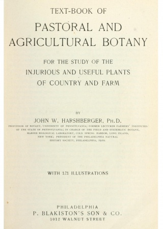 Textbook of pastoral and agricultural botany